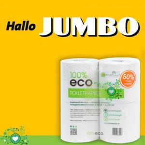 toiletpapier bij jumbo 100% eco
