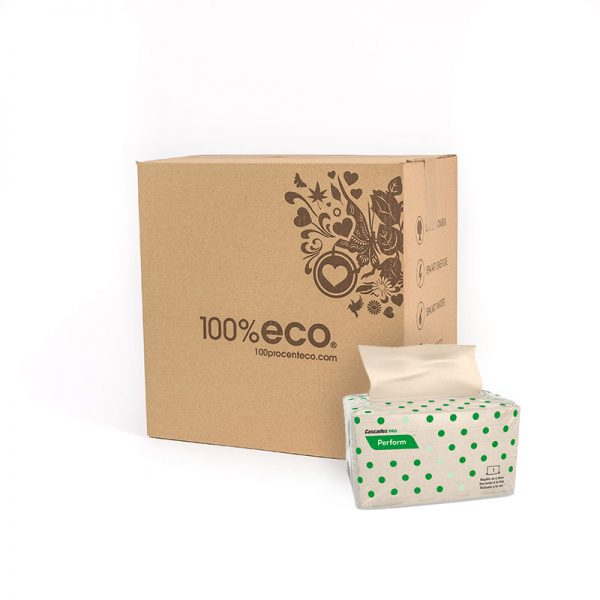 100% eco gerecycled papier tissues 12 stuks
