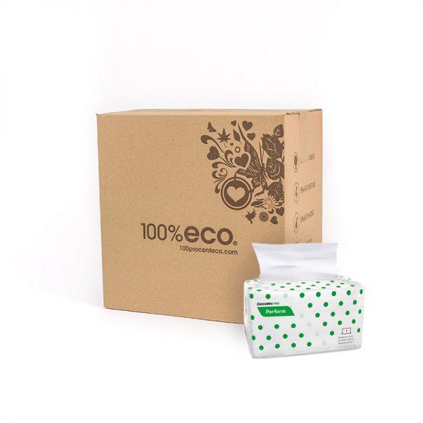 100% eco gerecycled papier servetten 12 stuks perform