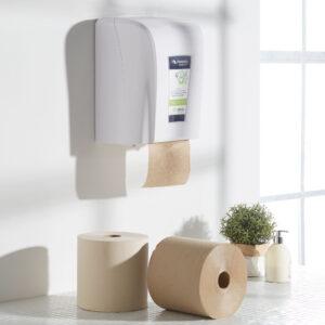 keuken papier dispenser 100% eco gerecycled papier