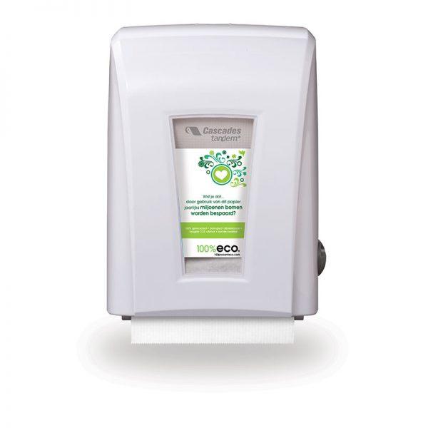 100% eco gerecycled papier cascade