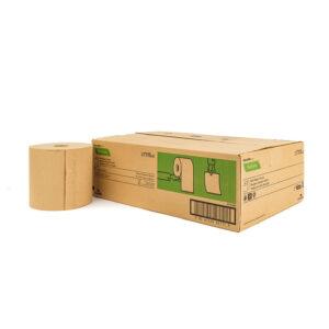 duurzaam 100% eco gerecycled papier handdoekrollen ecologisch