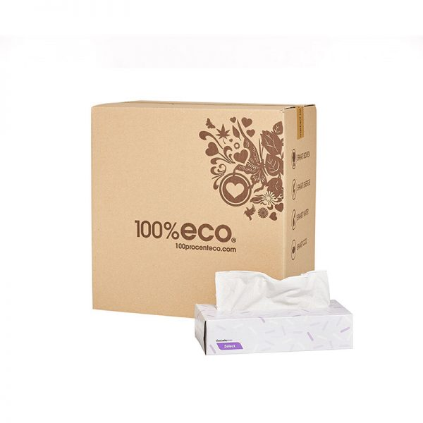 Tissues 100% eco gerecycled papier
