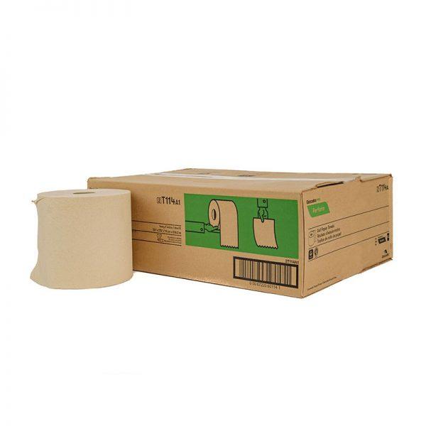 ecologische handdoekrollen100% eco gerecycled papier eco papier ongebleekt