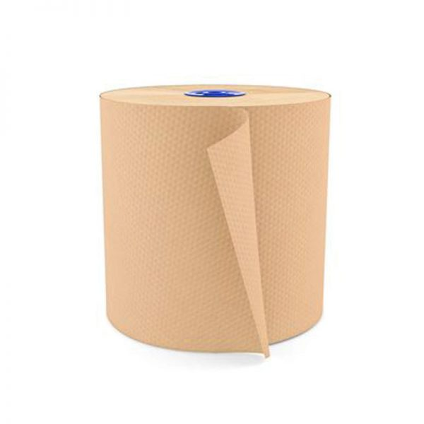 100% eco gerecycled papier losse rol ongebleekt